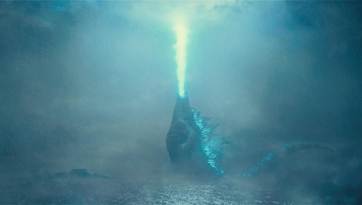 Godzilla puts on a light show in the latest teaser for King of the Monsters