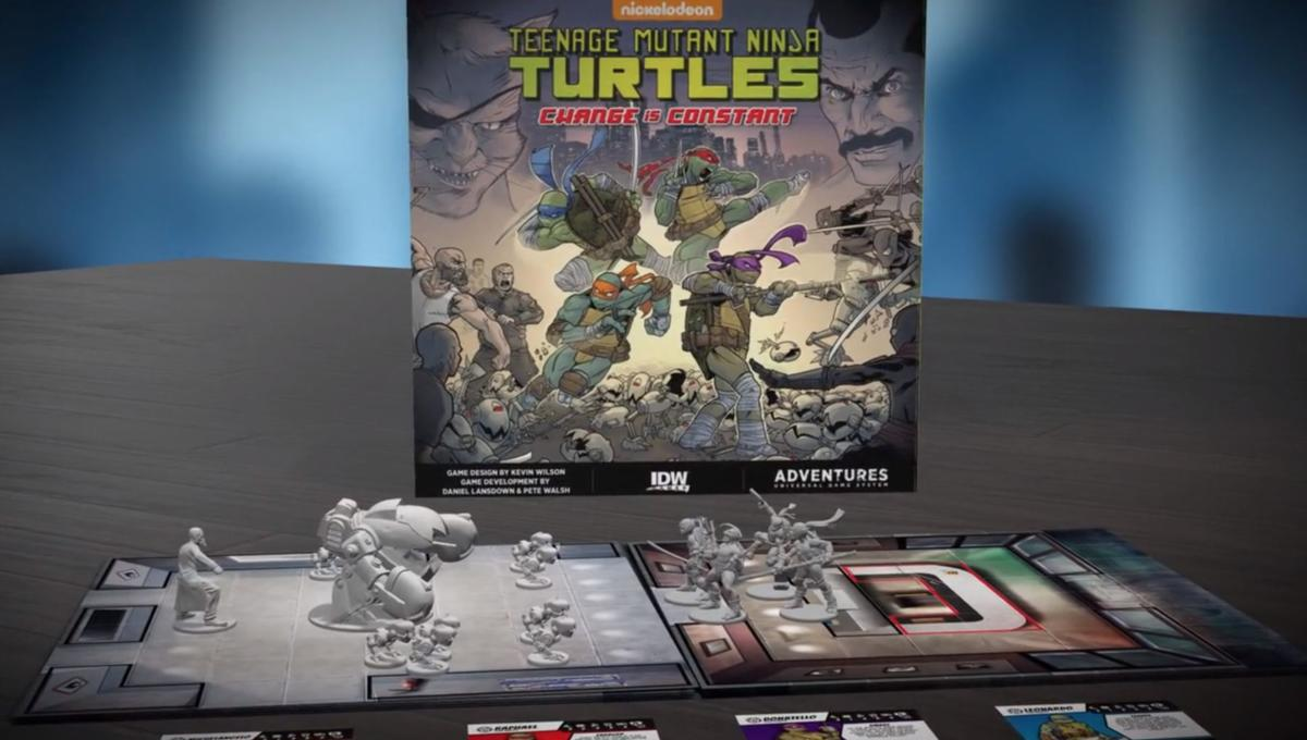 Cowabunga! IDW charges onto Kickstarter with a pair of new Teenage Mutant Ninja Turtles board games