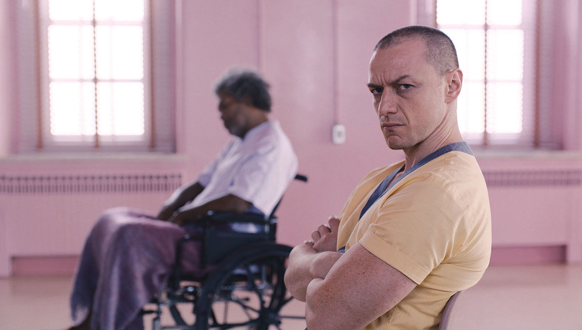 James McAvoy in Glass hero