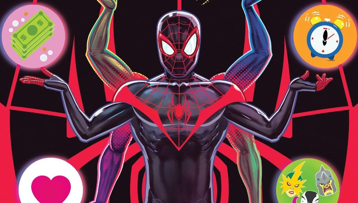 Miles Morales Spider-Man comic cover