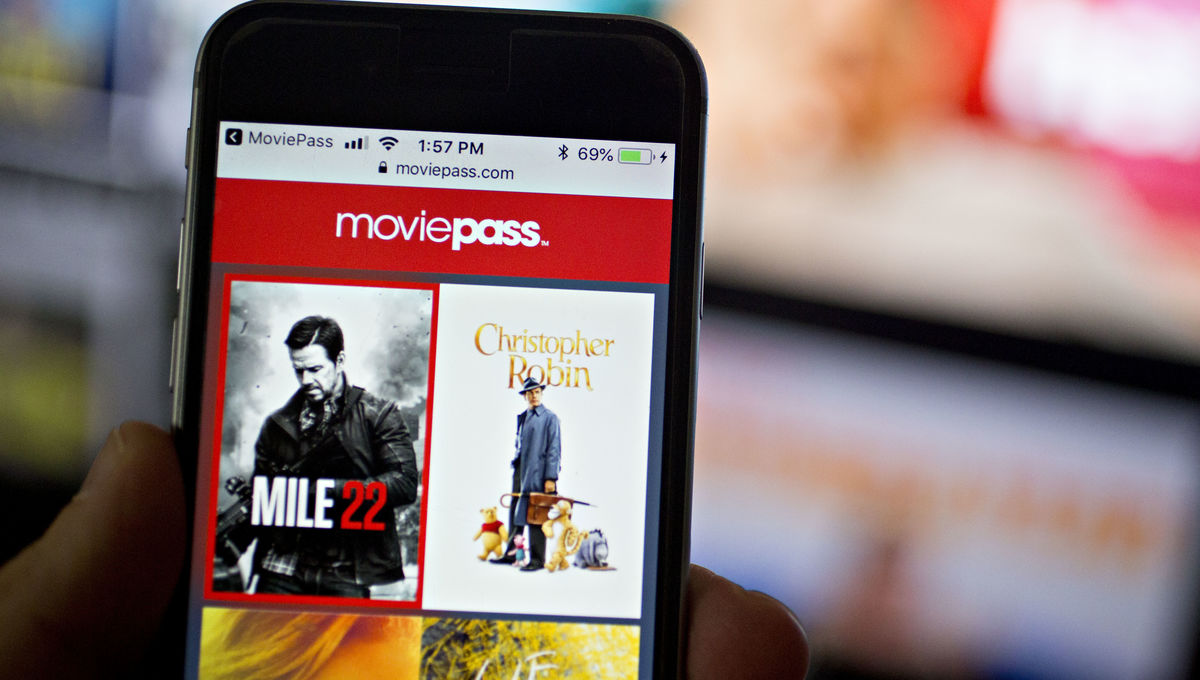 MoviePass Getty Images