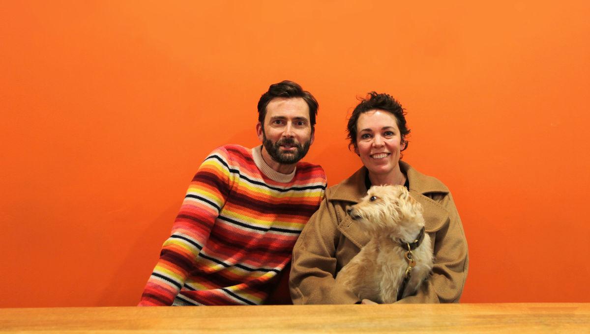 Olivia Colman and David Tennant