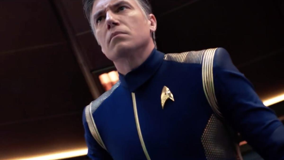 Captain Pike in Star Trek: Discovery