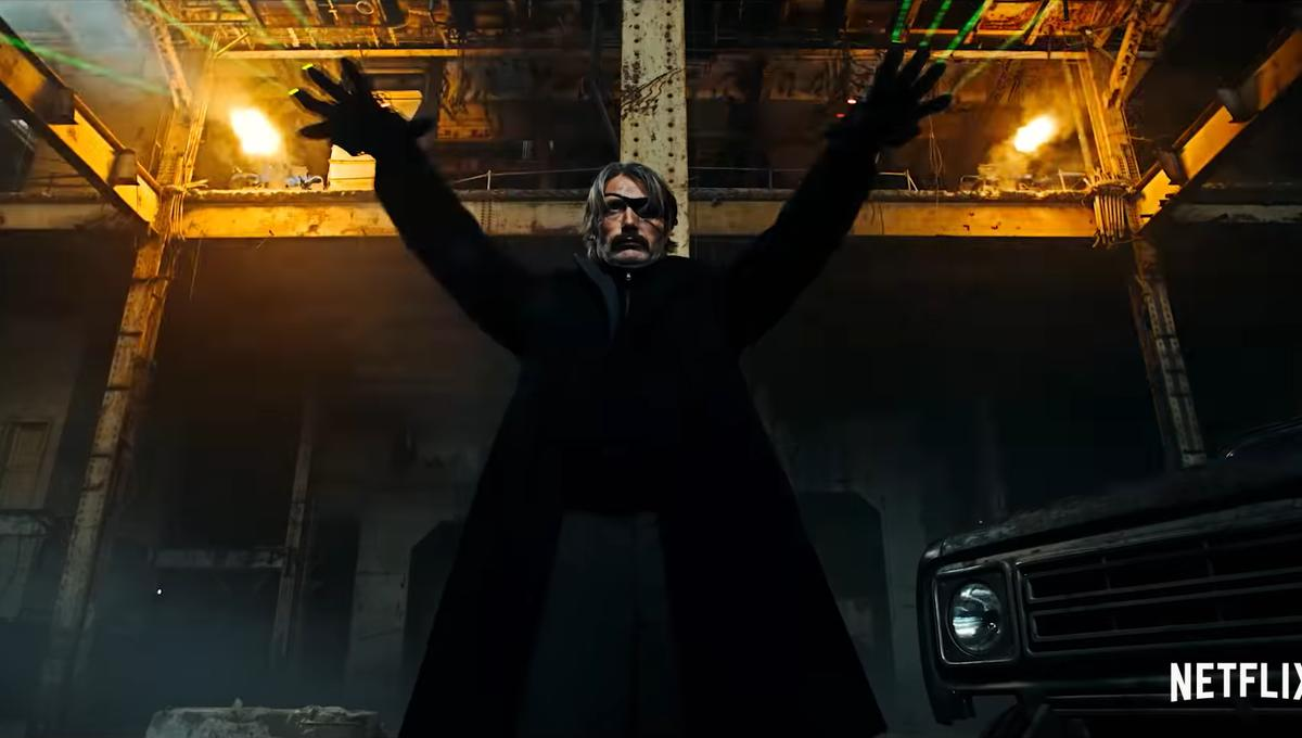 The Wire On Netflix | Mads Mikkelsen S Finger Bullets Fly In Netflix S First Polar Trailer