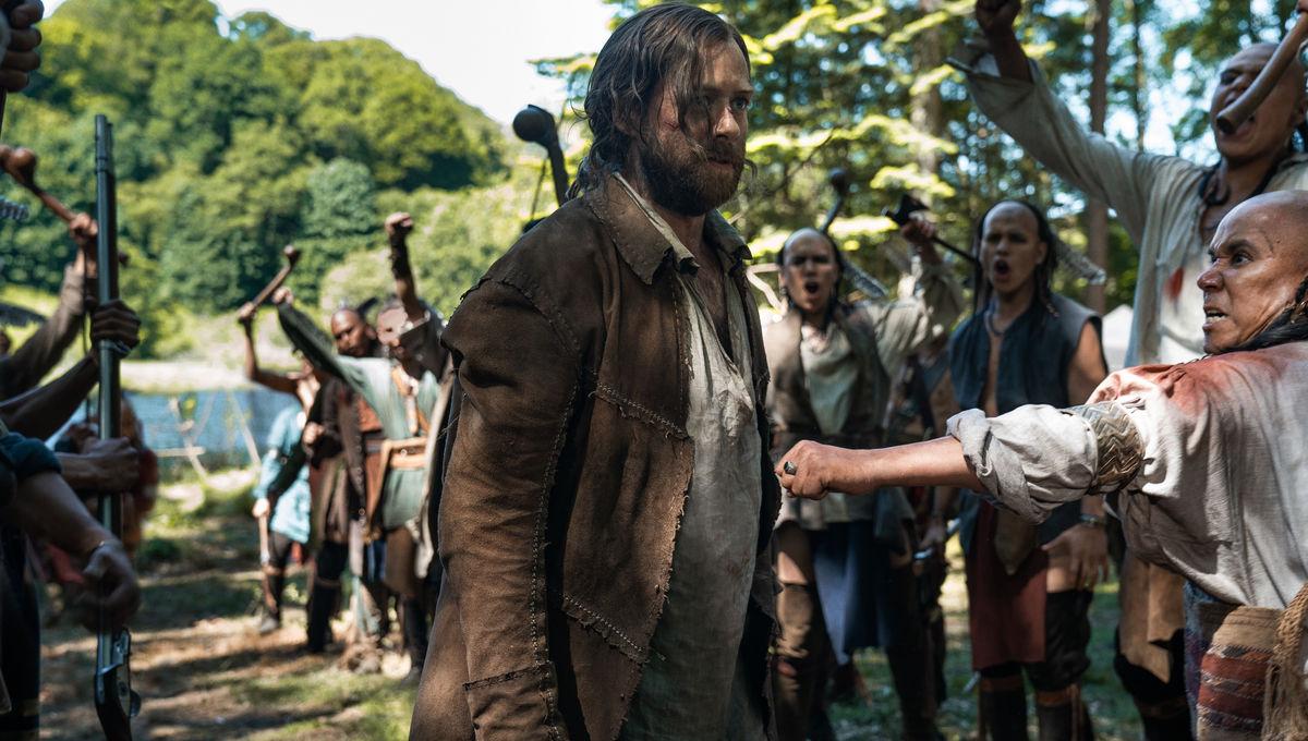 WATCH: Outlander's Richard Rankin on Roger's dark night of the soul in 'Providence'