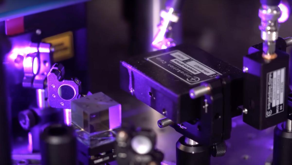 Rice University plasma experiment