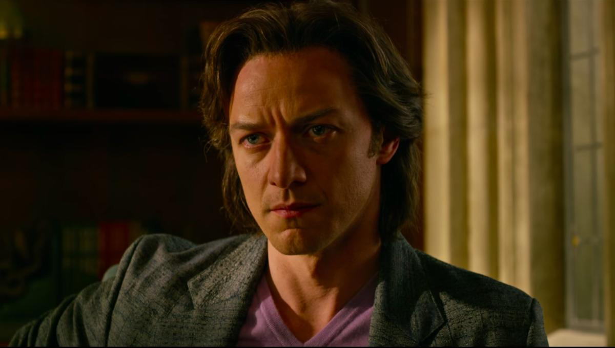 James McAvoy Charles Xavier X-Men: Apocalypse