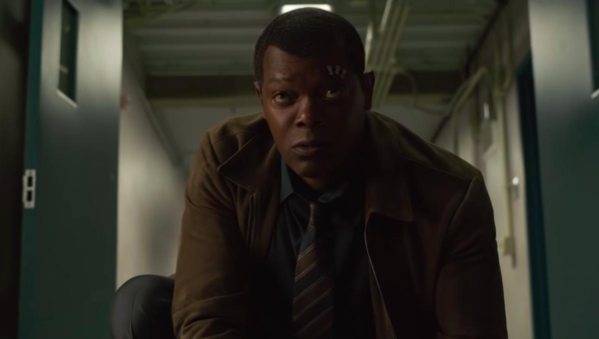 Nick Fury Samuel L. Jackson Captain Marvel