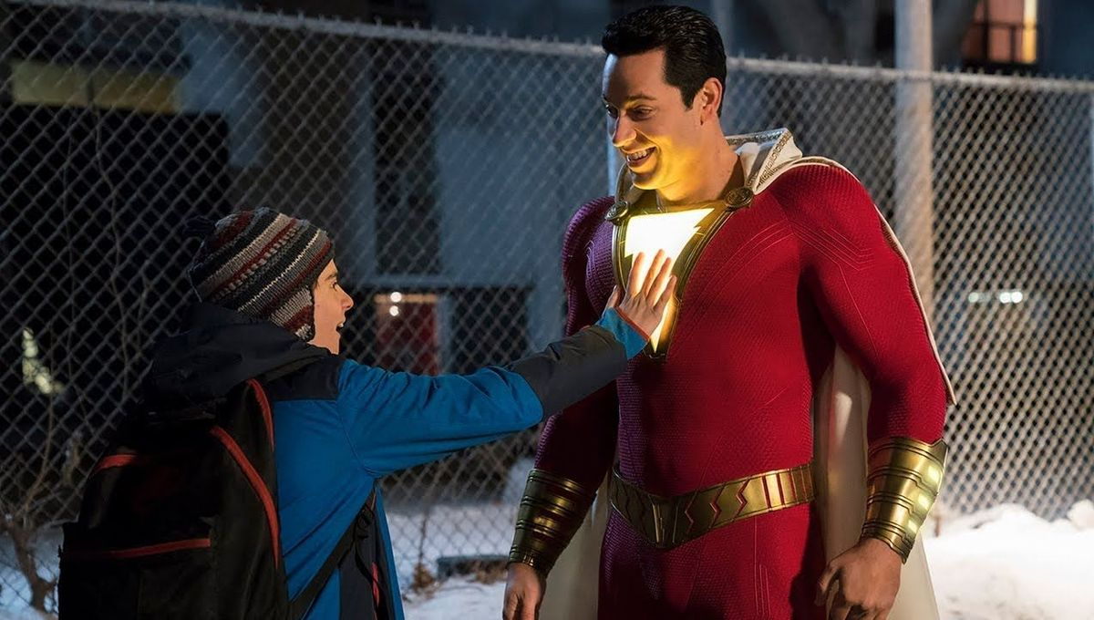 Shazam's suit cost over $1 million dollars - and they made 10 of them
