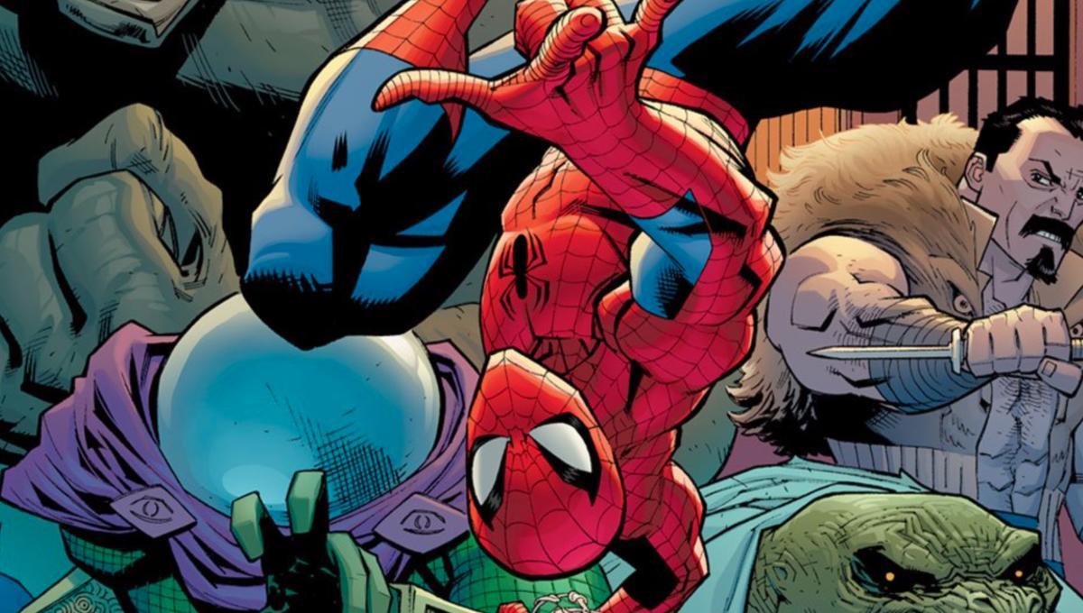 Spider Man via official Marvel Twitter 2019