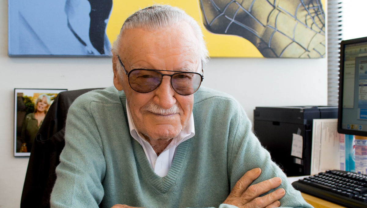 Stan Lee Press Photo