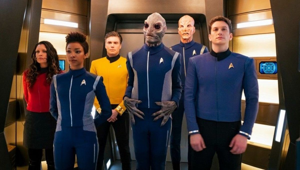 Image result for star trek discovery new uniforms