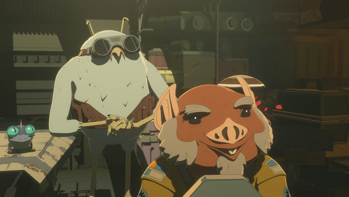 Minding a shop is 'Dangerous Business' in this week's Star Wars Resistance