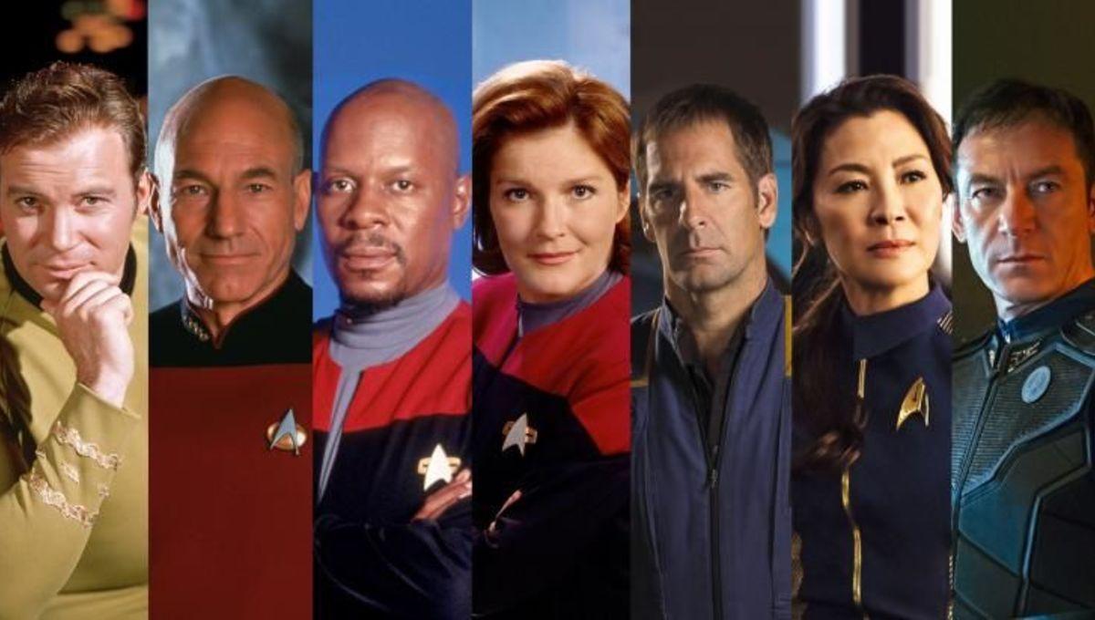 All Star Trek Captains