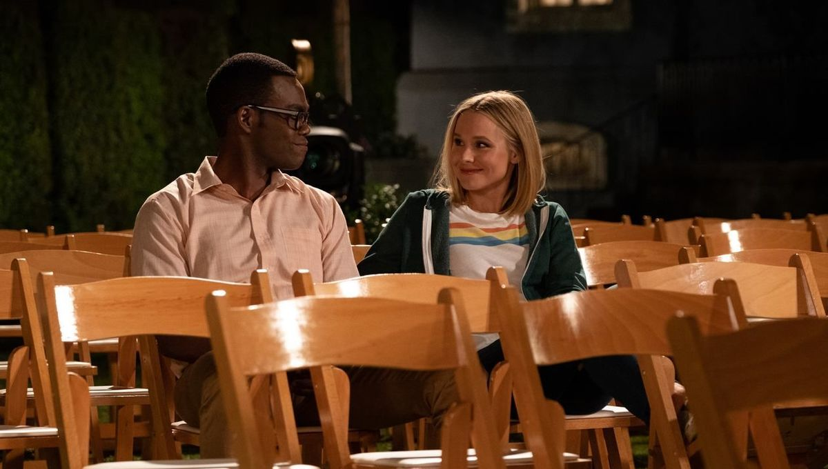 The Good Place writers in 'white-hot panic' over how to pick up the
