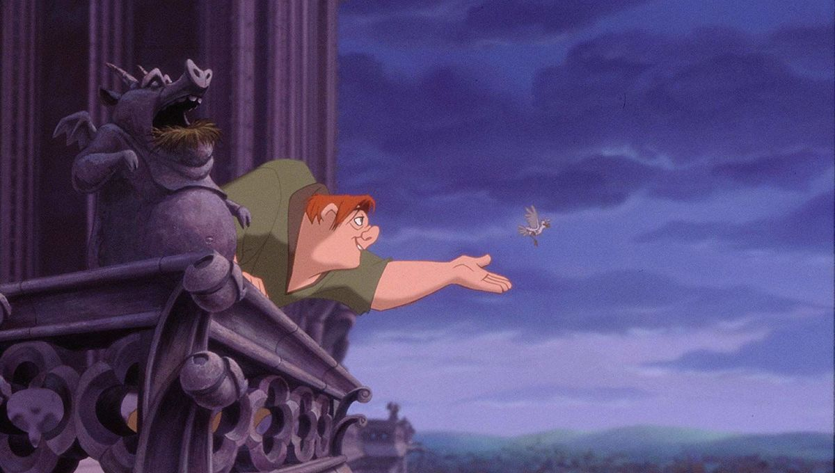 The Hunchback of Notre Dame Disney animated