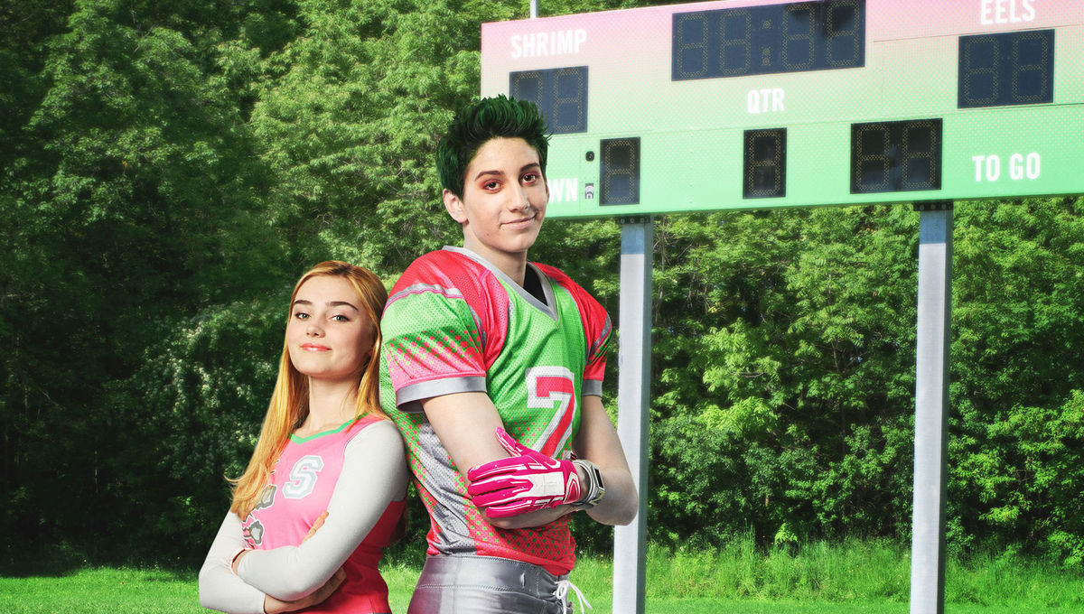 Zombies 2 Meg Donnelly and Milo Manheim