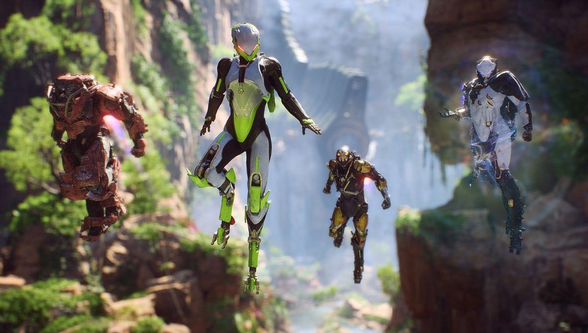 Gaming: Anthem launch trailer slings javelins