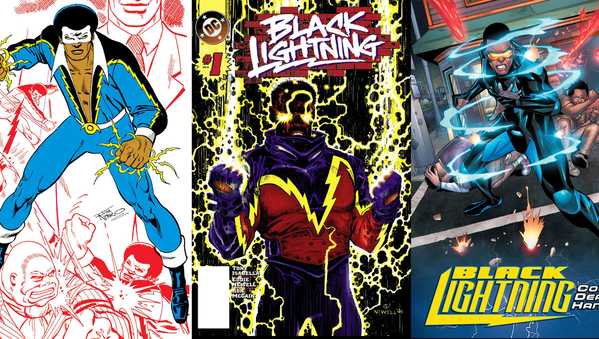 Black Lightning's creator traces the rocky road to DC's first standalone black superhero