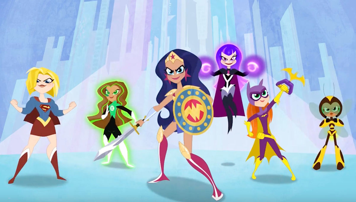 DC Super Hero Girls via official YouTube 2019