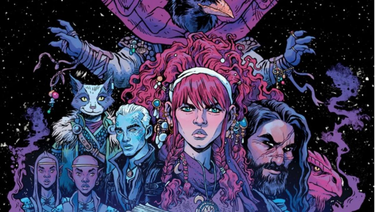 Test your fate in this exclusive peek at IDW's new Dungeons & Dragons: A Darkened Wish #1