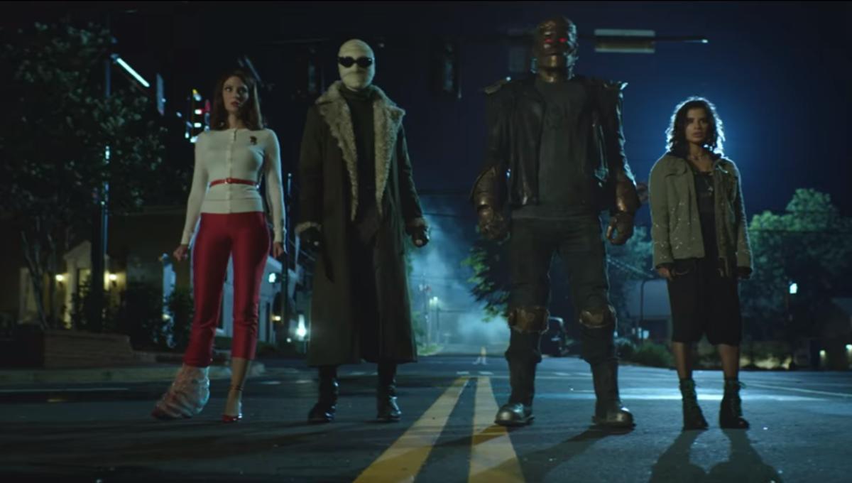 Doom Patrol team