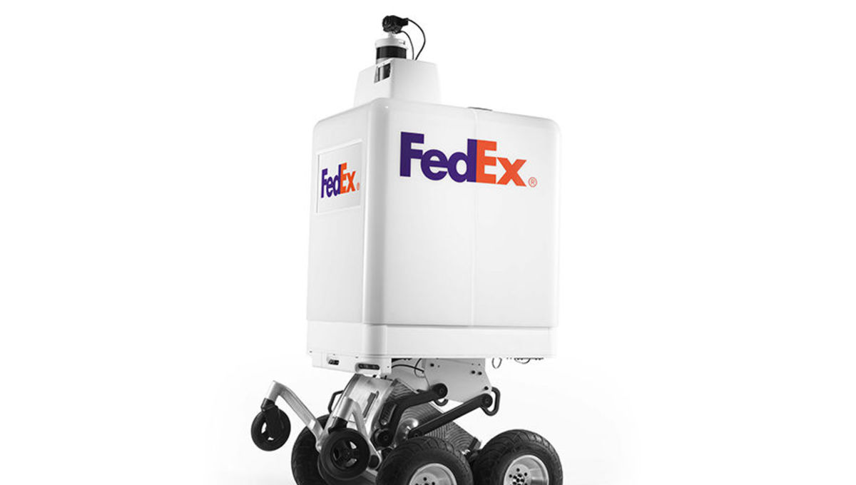 FedEx delivery robot