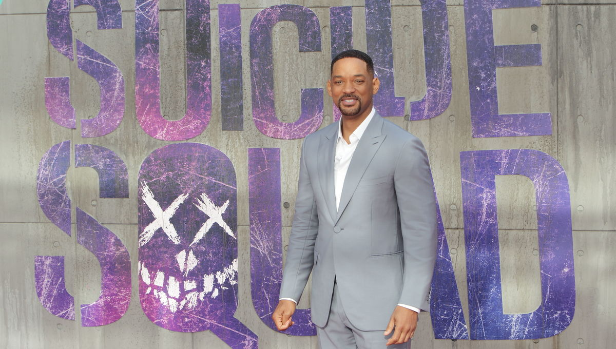Will Smith Suicide Squad premiere London England