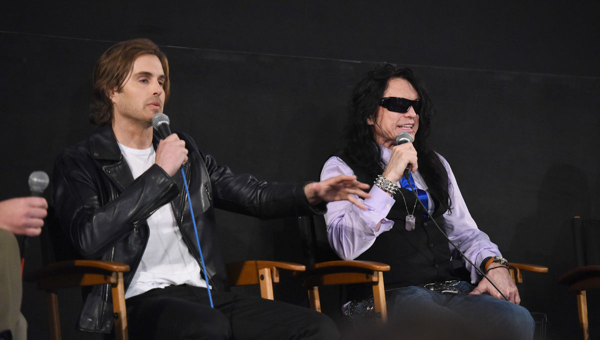 Tommy Wiseau and Greg Sestro getty
