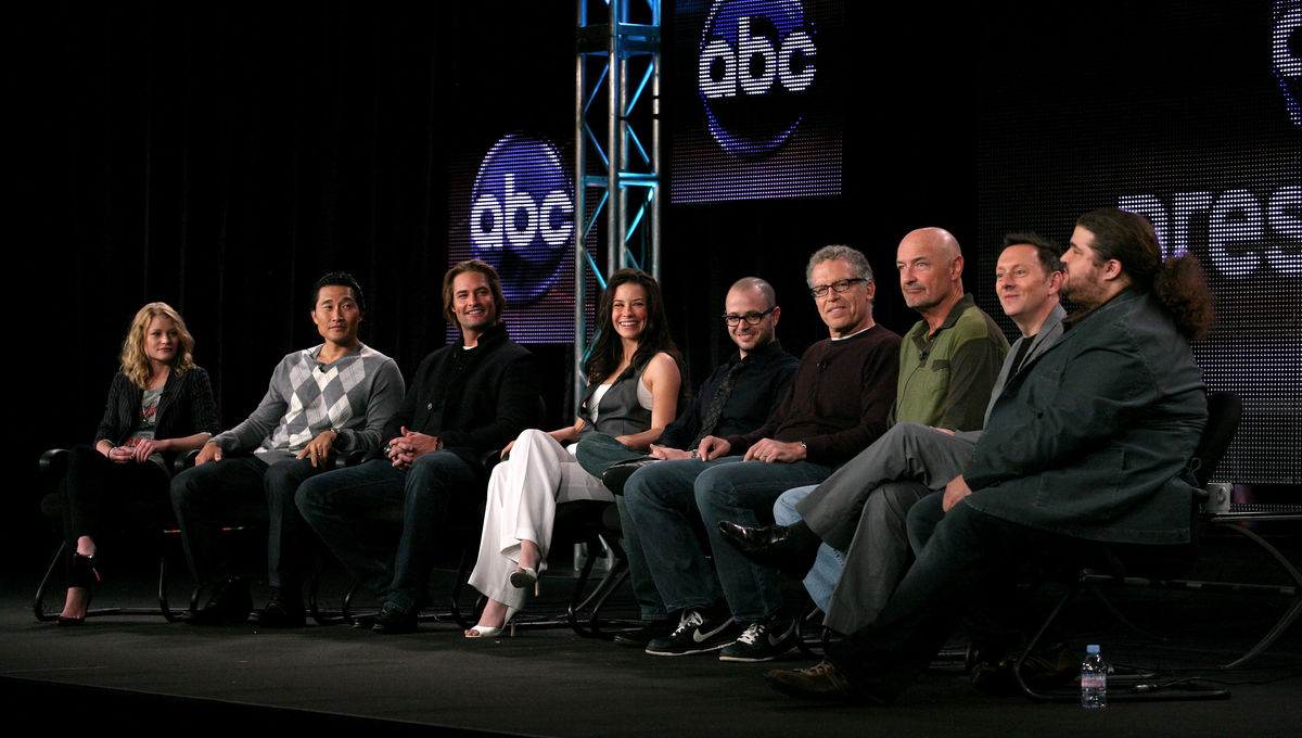 Lost cast getty