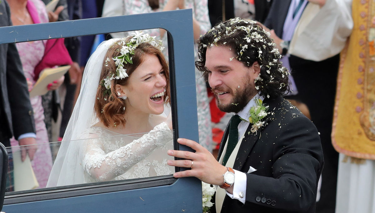 Kit Harrington Rose Leslie wedding