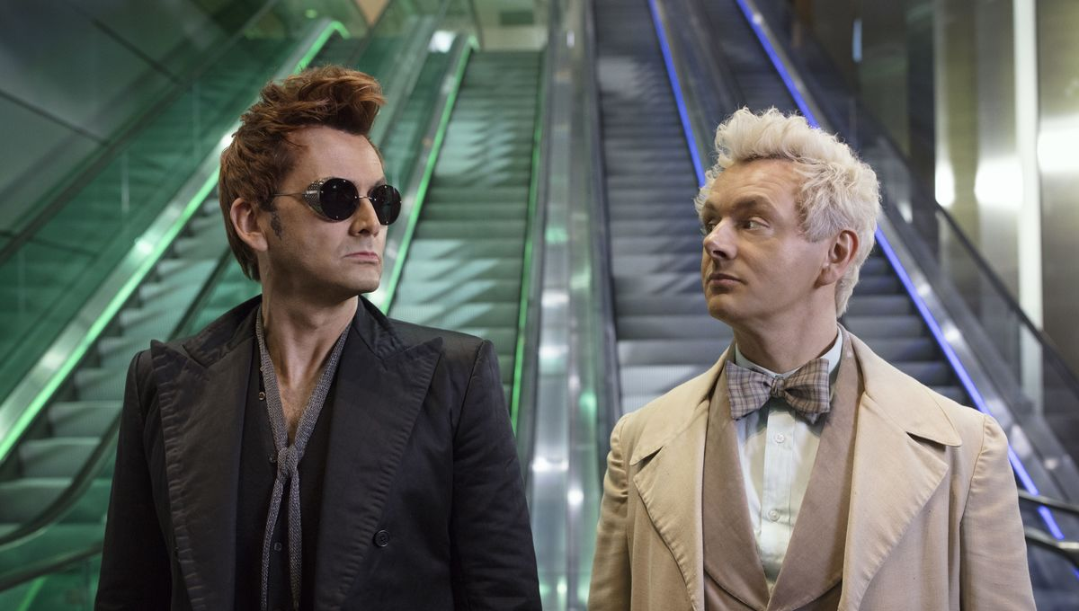 Good Omens trailer starring Michael Sheen and David Tennant