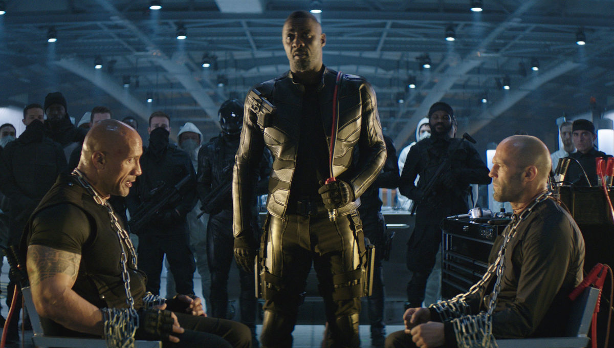 Idris Elba's 'black Superman' line from Hobbs & Shaw was almost a
