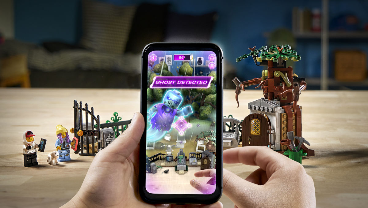 LEGO unveils augmented reality-enhanced haunted play sets