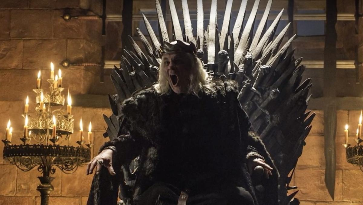 The Mad King from Game of Thrones