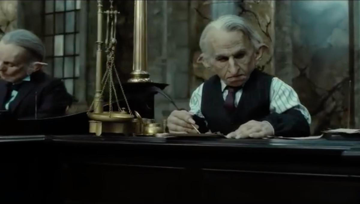 Gringotts Bank from Harry Potter
