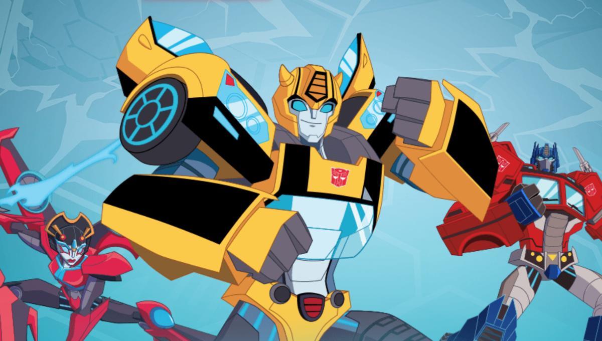 transformers: cyberverse trailer screengrab