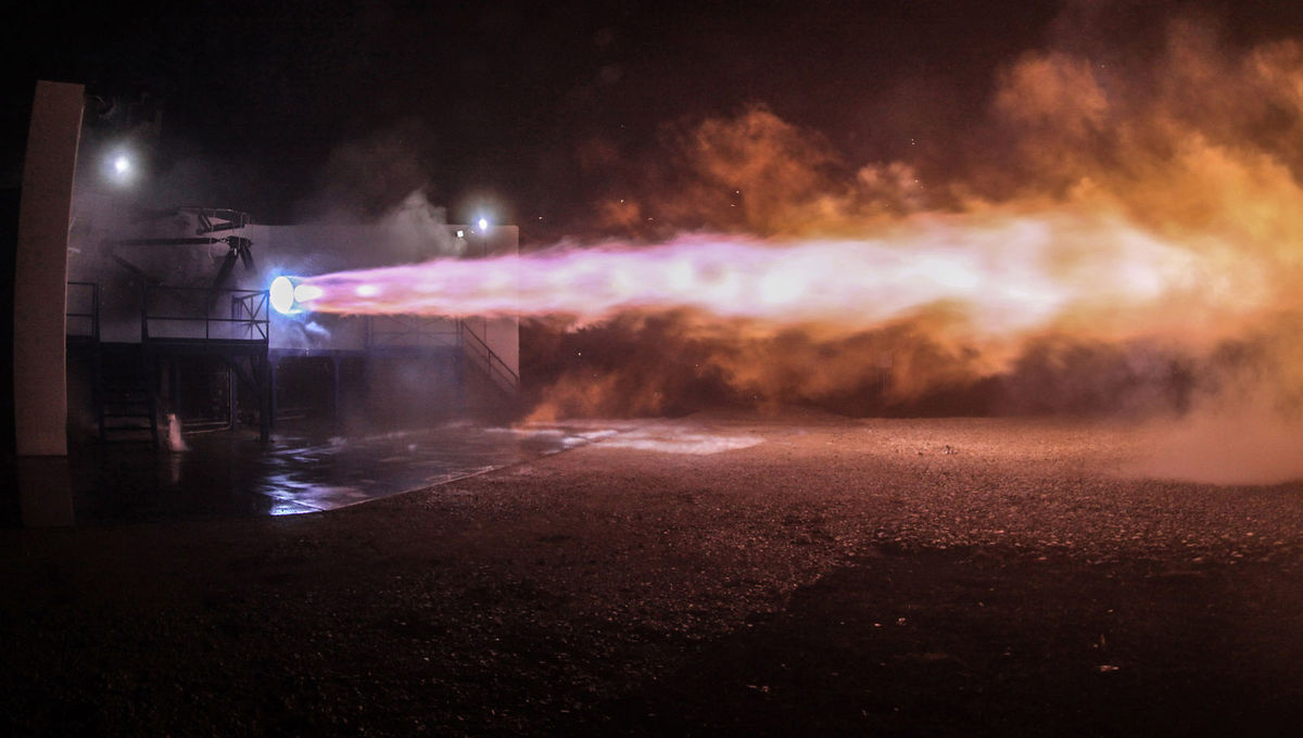 SpaceX Raptor Engine via official site 2019