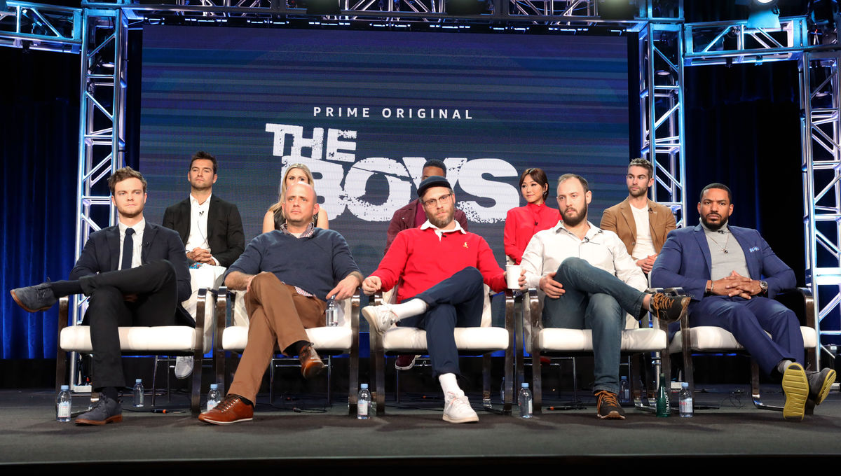 The Boys unveil their schemes for Amazon Prime at the 2019 TCAs