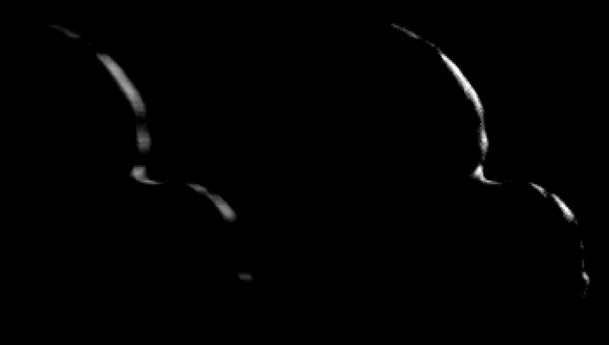 NASA releases awesome flyby GIF of odd Ultima Thule object