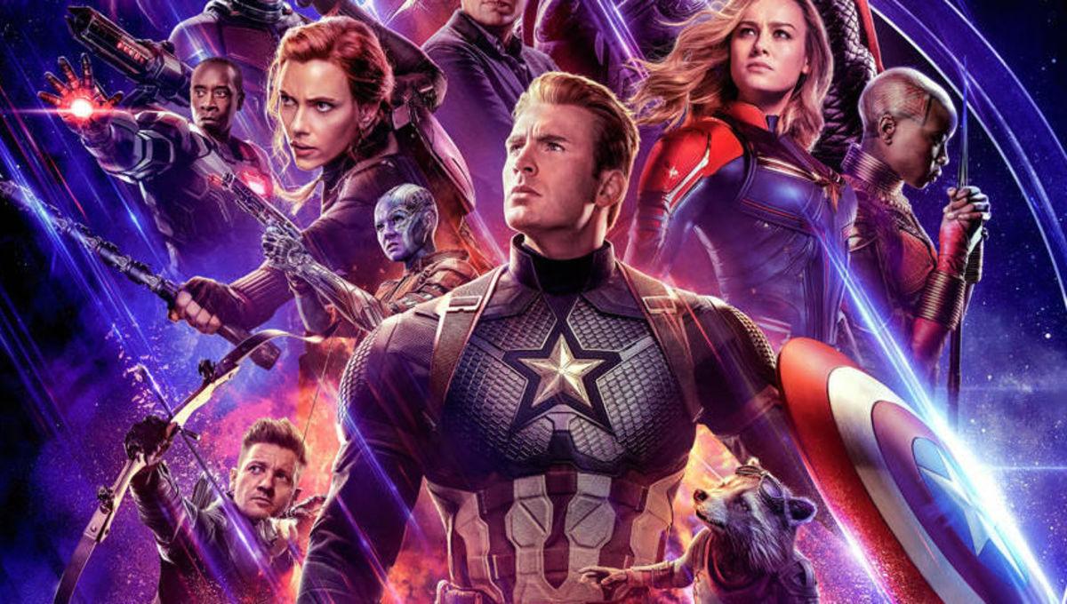 Captain America leads the heroes of Avengers: Endgame