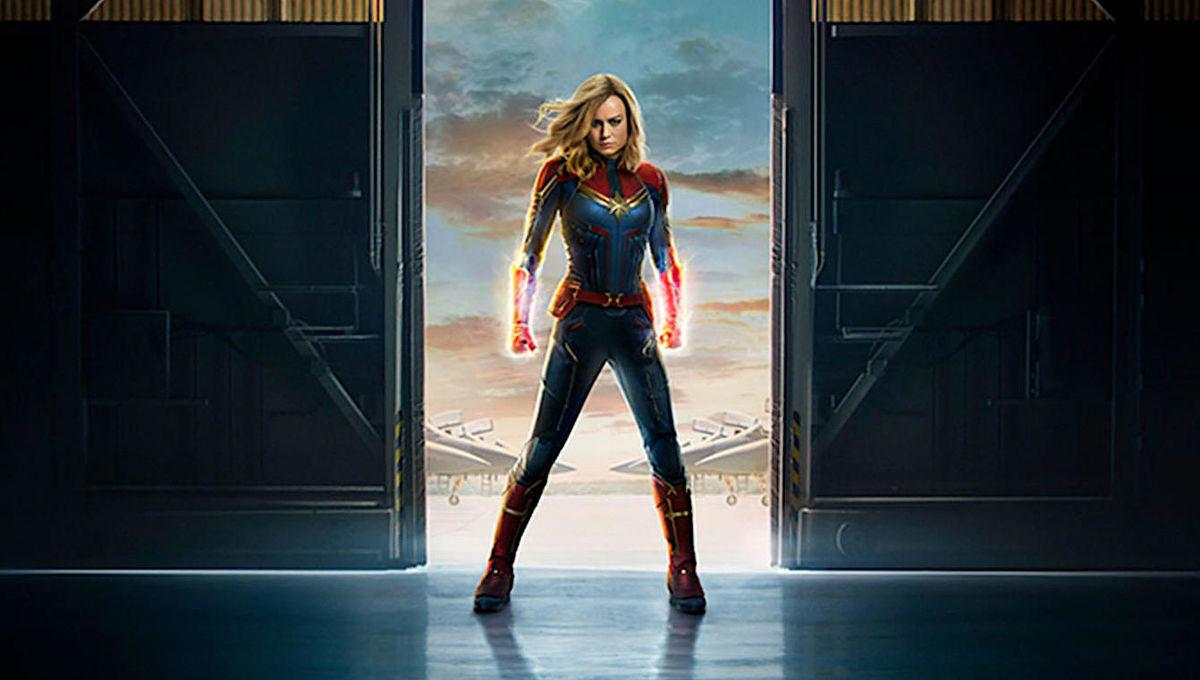Captain Marvel poster via Marvel site 2019