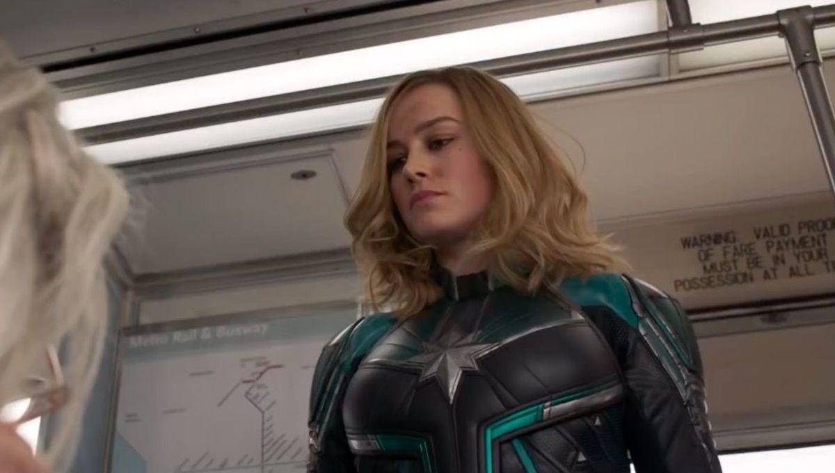 Captain Marvel train screengrab