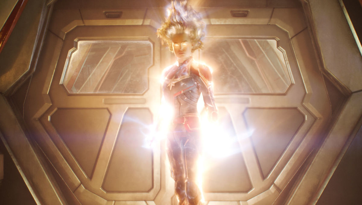 Captain Marvel could literally eat the other Avengers, according to