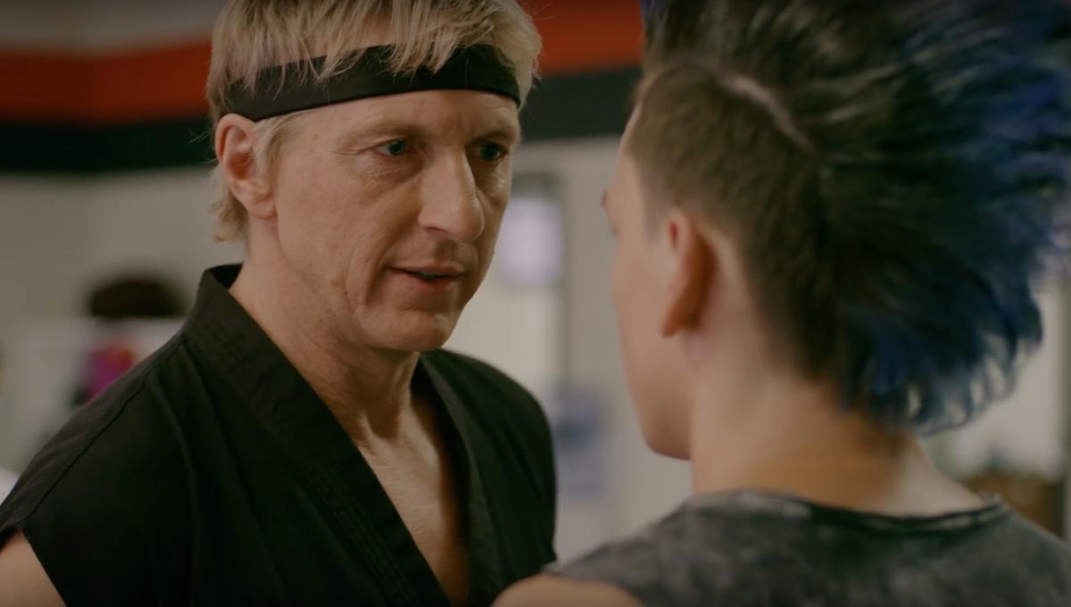William Zabka as Johnny Lawrence in Cobra Kai