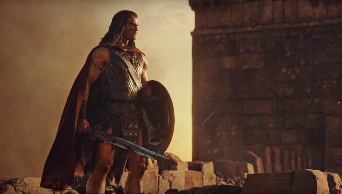 Conan surveys the horizon in Conan Unconquered