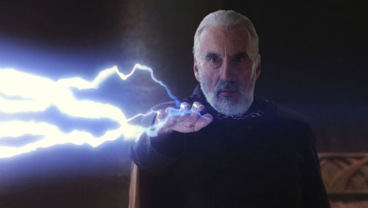 Count Dooku Christopher Lee Attack of the Clones
