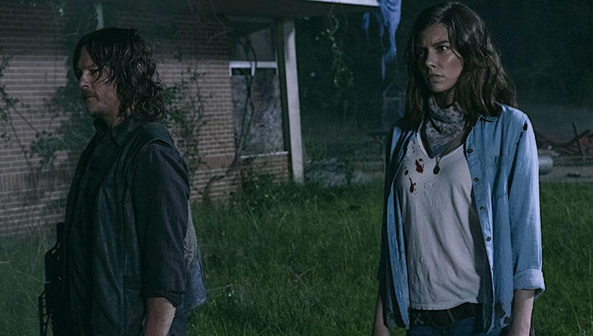 Lauren Cohan reveals The Walking Dead Maggie moment that made her vomit