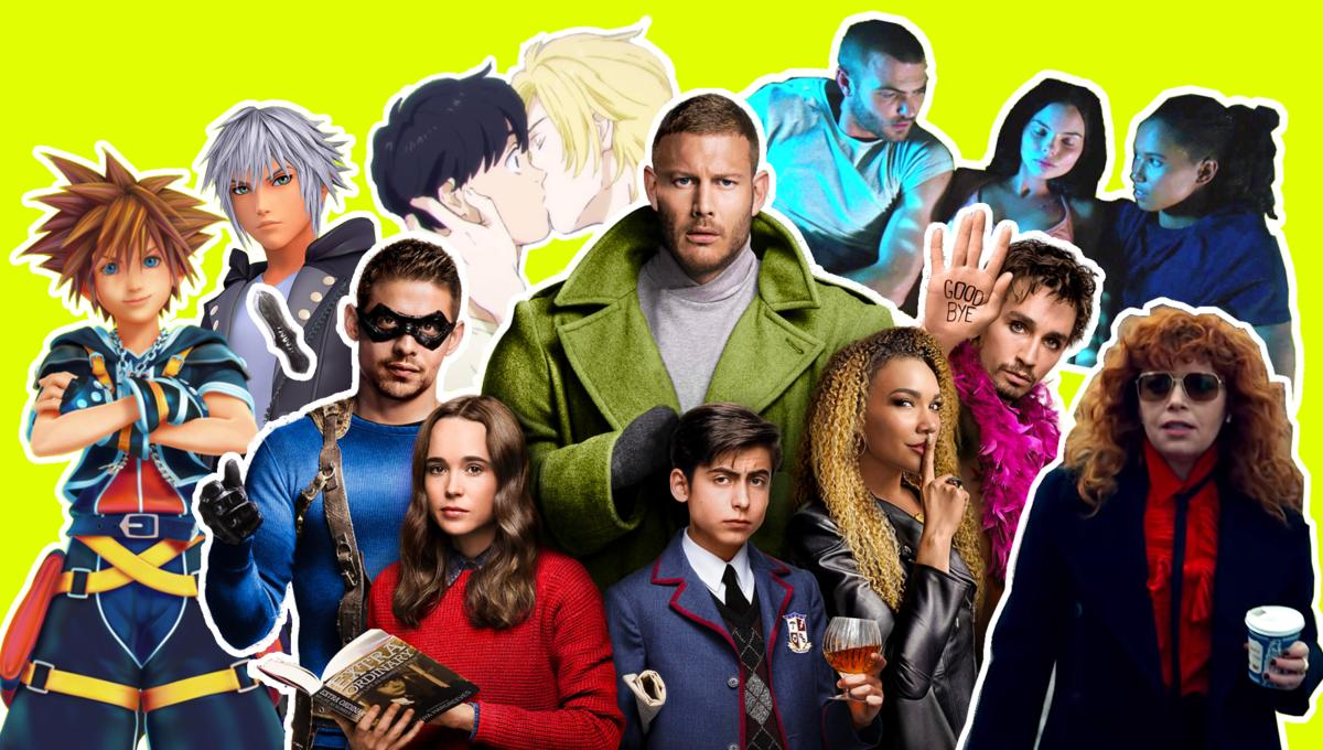 Fanfiction for The Umbrella Academy, Pokémon and Russian Doll