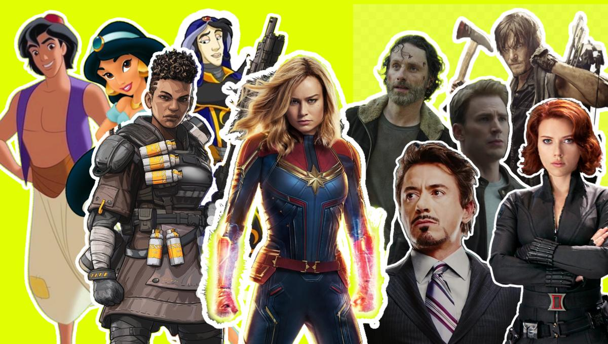 Read This Fanfiction: Continue the story with Captain Marvel, Apex Legends, and The Magicians